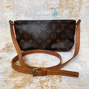 Authentic Louis Vuitton Monogram Trotter Crossbody